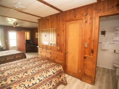 Cabin Queen Beds